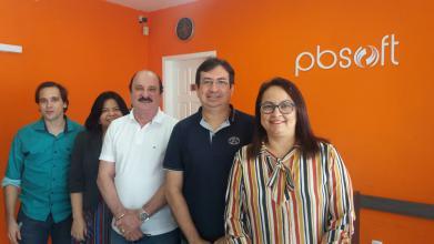 Durval Ferreira, presidente do Conselho Administrativo do Extremotec faz visita de cortesia